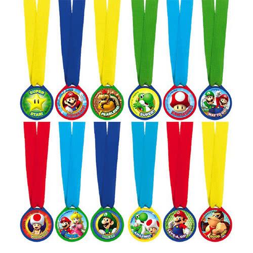 Super Mario Brothers - Award Medals, Mini