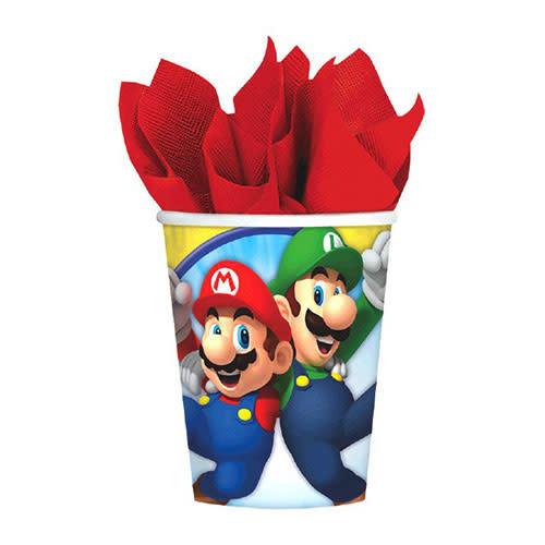 Super Mario Brothers - Cups, 9oz