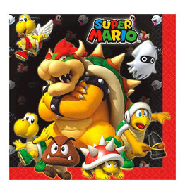 Super Mario Brothers - Napkins, Lunch
