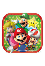 "Super Mario Brothers - Plates, 7"" Square"