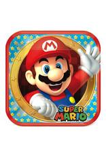 "Super Mario Brothers - Plates, 9"" Square"