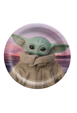 """The Mandalorian - The Child 9"""" Round Plate"""