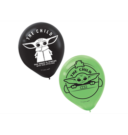 The Mandalorian - The Child Latex Balloons