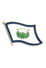 Popcorn Tree Lapel Pin - West Virginia Flag