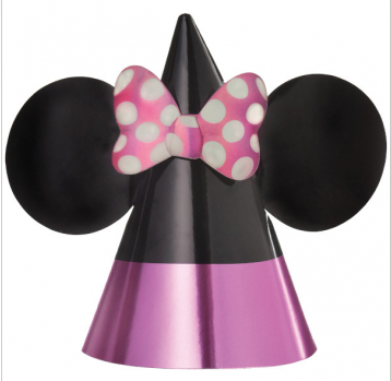 Minnie Mouse - Cone Party Hat