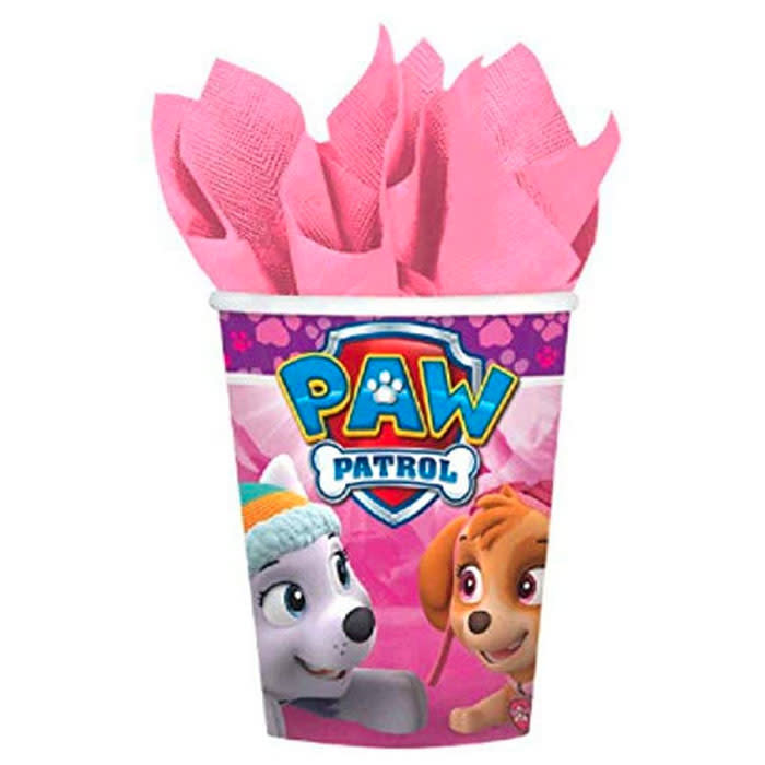 Paw Patrol Girl - 9 oz cups