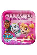 "Paw Patrol Girl - 9"" Plate"