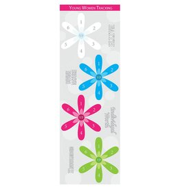 Popcorn Tree Personal Progress Tracking Bookmarks, 6ct