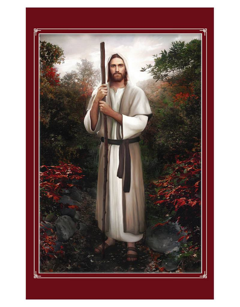 Brent Borup Program Covers - Christ with Staff, 100ct