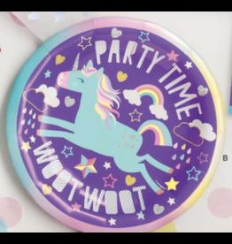 "Unique Unicorn - 7"" Plates"