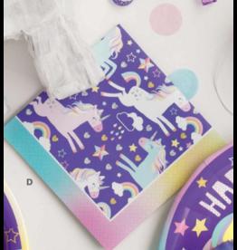 Unique Unicorn - Beverage Napkin