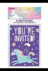 Unique Unicorn - Invitations