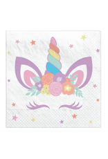 Unicorn Party - Beverage Napkin