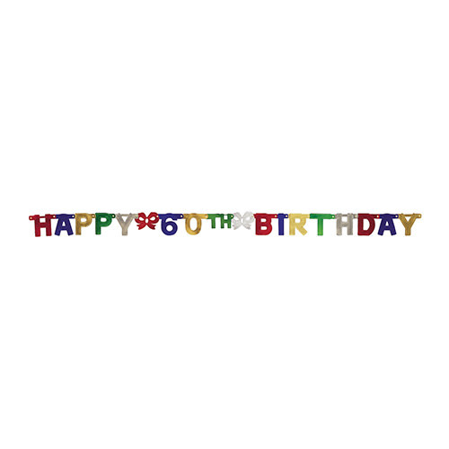 Creative Converting Banner - Joint, Happy 60th Birthday