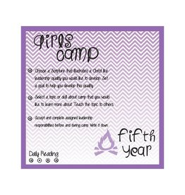 Popcorn Tree Girls Camp Punch Cards - 5th Year, 6ct