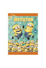 Unique Despicable Me  - Invitations