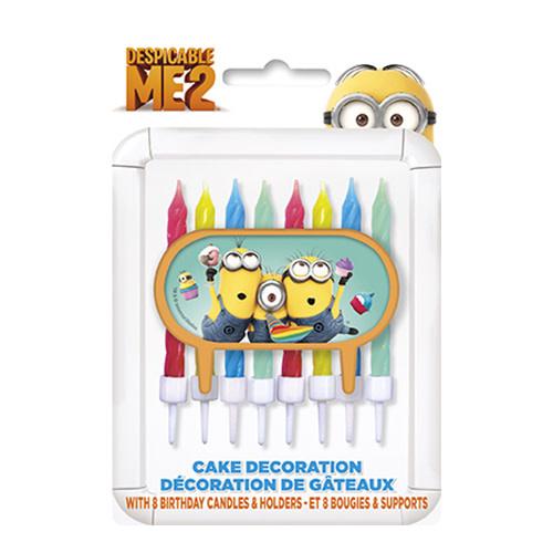 Unique Despicable Me 2 - Cake Decoration w/ Candles