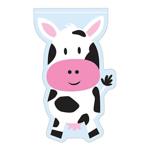 Creative Converting Farmhouse Fun - Bags, Cow-Shaped Treat