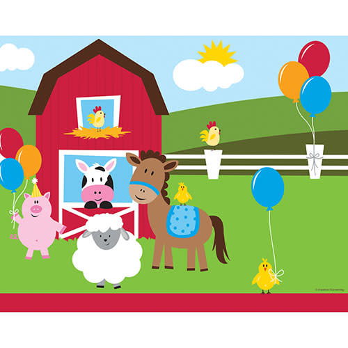Creative Converting Farmhouse Fun - Banner