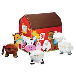 Creative Converting Farmhouse Fun - Centerpiece