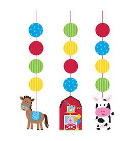 Creative Converting Farmhouse Fun - Hanging Cutouts