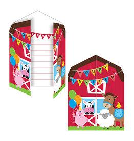 Creative Converting Farmhouse Fun - Invitations