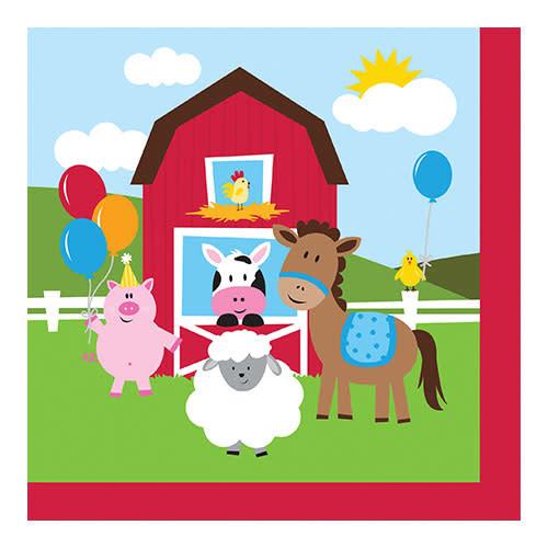 Creative Converting Farmhouse Fun - Napkins, Beverage