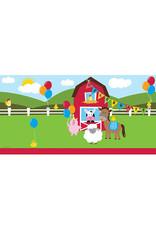 Creative Converting Farmhouse Fun - Tablecover 54x108