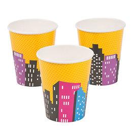FUN EXPRESS Superhero Girl - Cups, 9oz