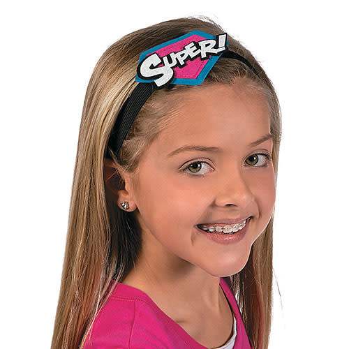 FUN EXPRESS Superhero Girl - Headband