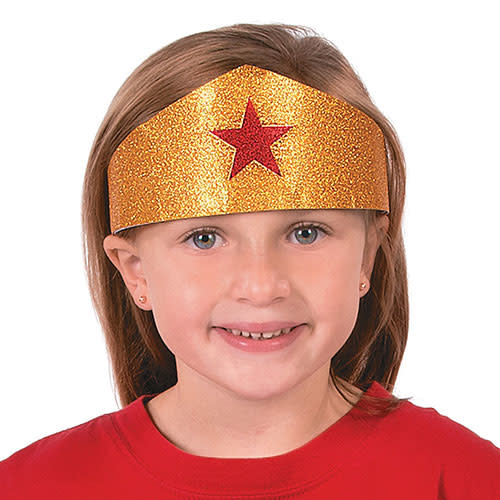 FUN EXPRESS Superhero Girl - Tiara, Gold