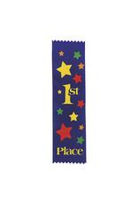FUN EXPRESS Ribbons, Award - 1st Place Blue 12ct