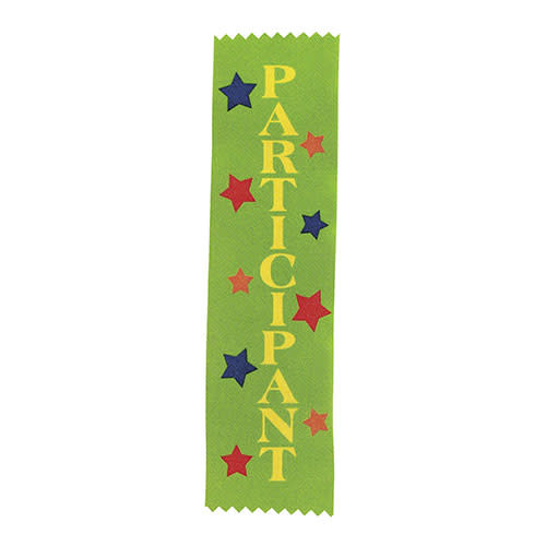 FUN EXPRESS Ribbons, Award - Participant Green 12ct