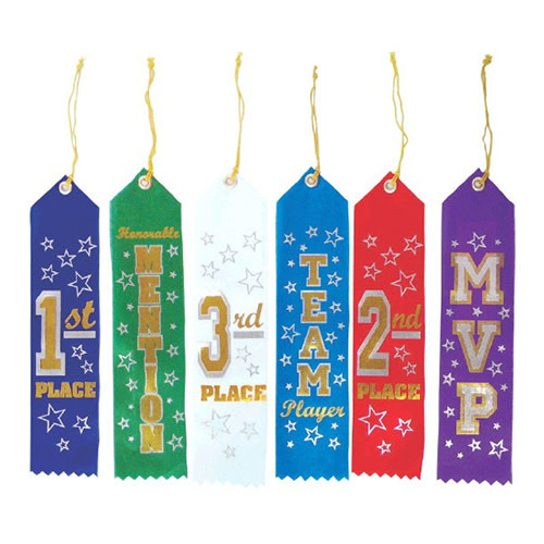 Ribbons, Recognition - 6ct