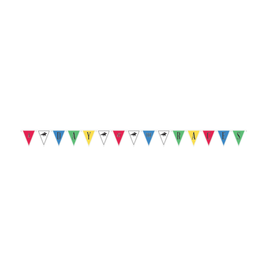 Amazon A Day At The Races Jumbo Pennant Banner