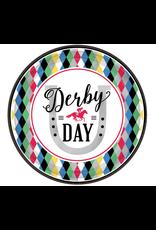 """Derby Day Round - 9"""" Plates"""