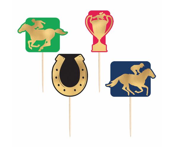 Horse Race Paper Hot Stamp Picks