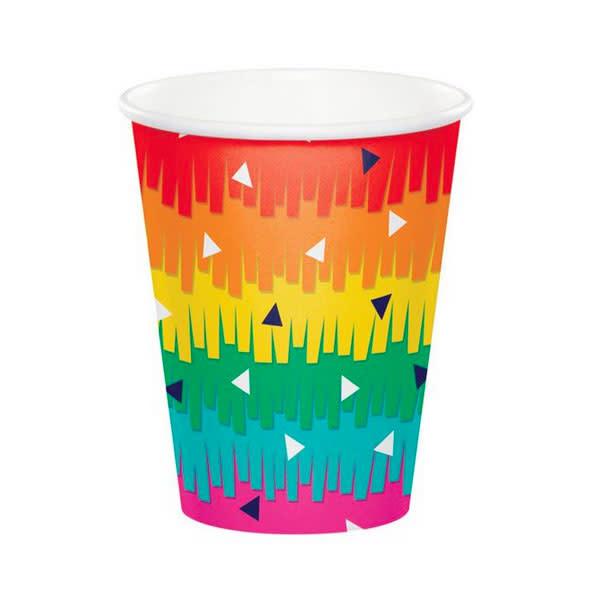 Creative Converting Fiesta Fun - 9oz Cup Fringe