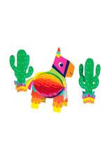 Creative Converting Fiesta Fun Honeycomb Centerpiece