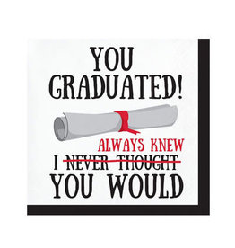 Creative Converting Graduation Fun - Bev Napkin - You Graduated