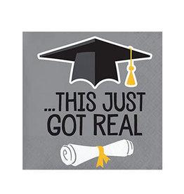 Creative Converting Graduation Fun - Bev Napkins - Got Real