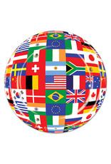 "Beistle International Flag - Plates, 9"" Round"