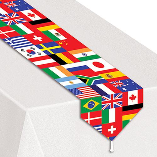 Beistle International Flag - Table Runner