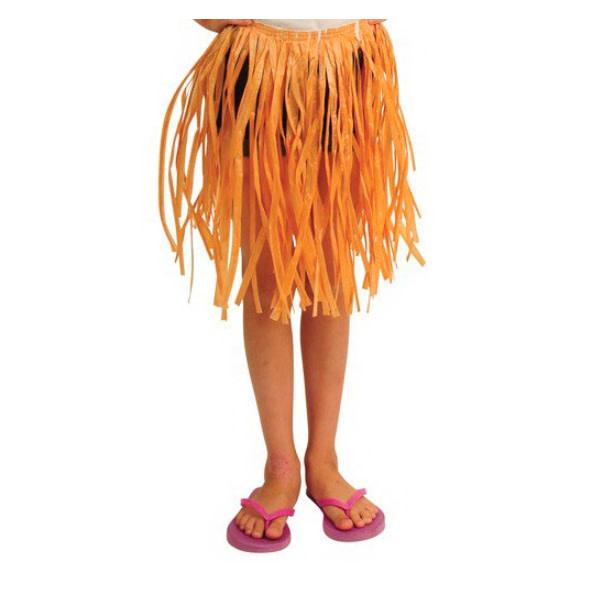 US Toy Hula Skirt - Natural  - Child