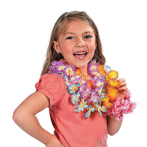 FUN EXPRESS Lei - Two Tone Maui Flower