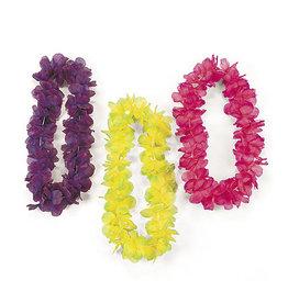 FUN EXPRESS Lei - Two-Tone Floral