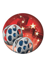 """Creative Converting Hollywood Lights - Plates 7"""" Round"""