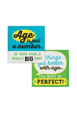 Creative Converting Age Humor - Beverage Napkins - Age is Just a Number