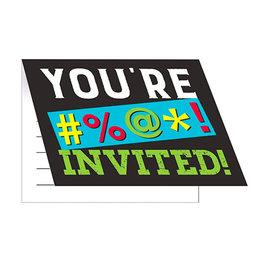 Creative Converting Age Humor - Invitations