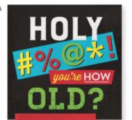 Creative Converting Age Humor - Lunch Napkin